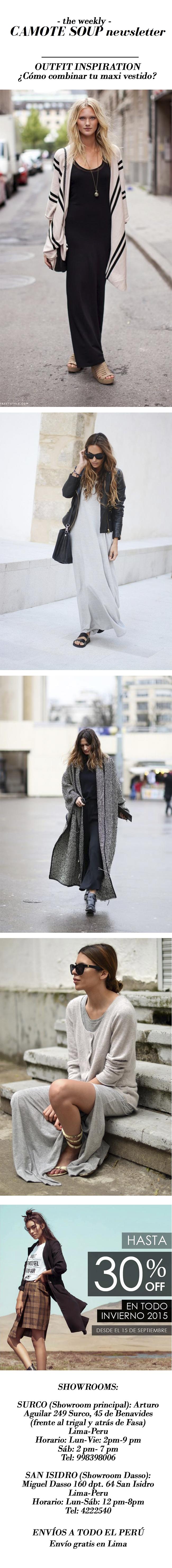Vestidos en invierno