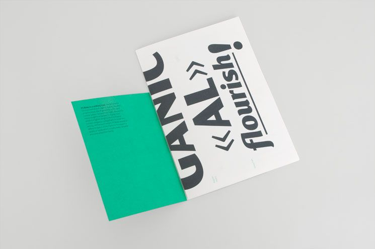 fold out catalogue