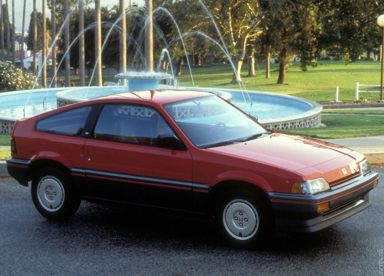 1986 Honda Civic CRX.. Had a car like this when younger