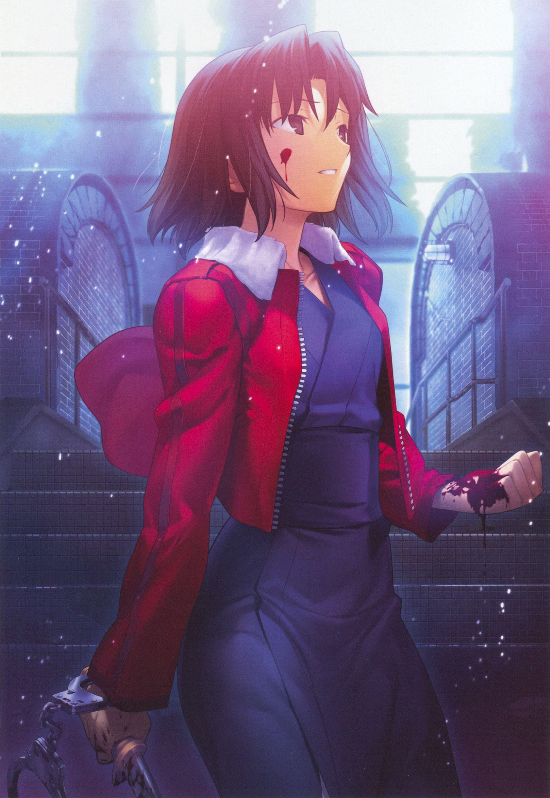 Kara no Kyoukai Cô gái mạnh mẽ