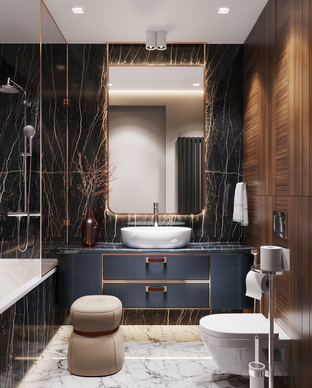 Top Project By Studia 54 In 2020 Bathroom Interior Design Bathroom Decor Luxury Washroom Design