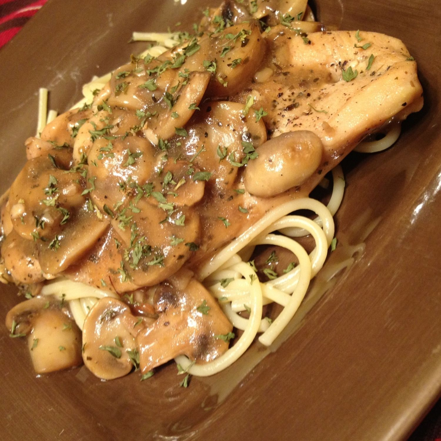Chicken Marsala: Hungry Girl Style