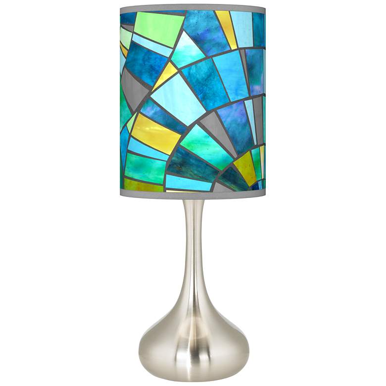 Lagos Mosaic Giclee Droplet Table Lamp 62r63 Lamps Plus