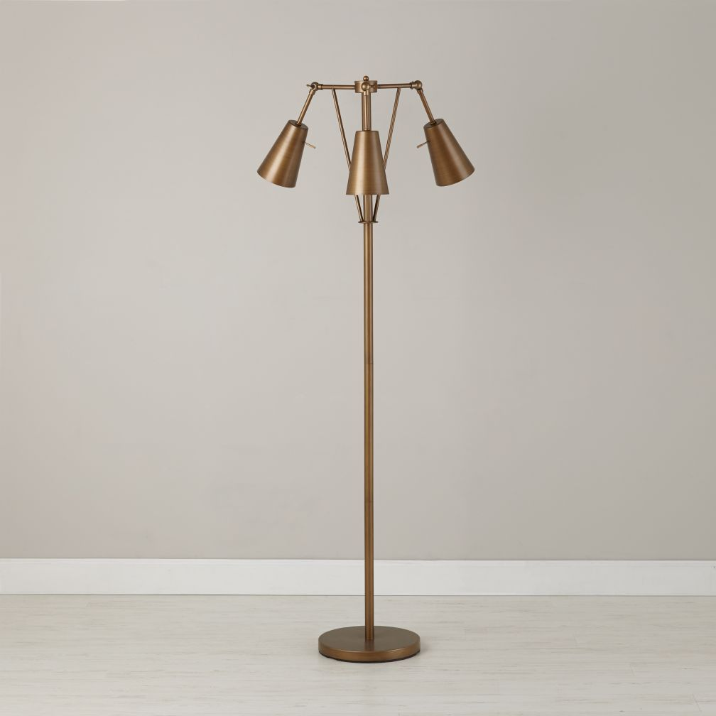 Periscope Floor Lamp | Floor lamp, Living rooms and Decorating
