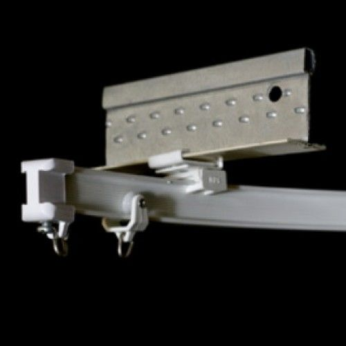 6100 Flexible Curtain Track I Beam Configuration Ceiling Or