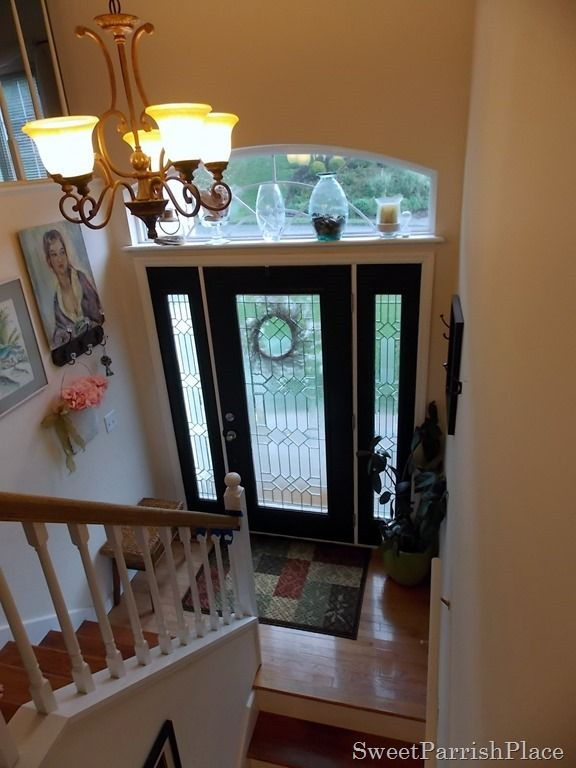 Difference Between Foyer And Entry : Black front door pretty split entry so beautiful i