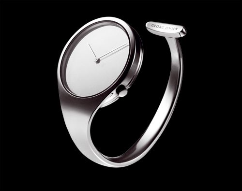 Vivianna Torun Bulow Hube Open Bangle Steel Watch For George Jensen