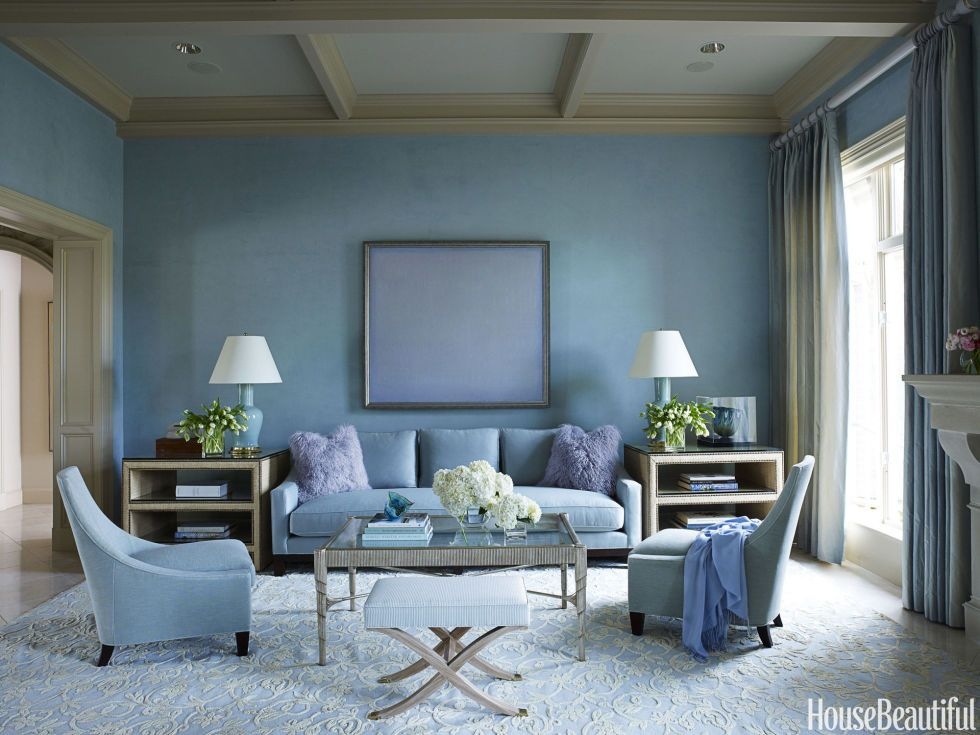 These 55 Designer Living Rooms Are Absolute Goals Blue Living Room Living Room Paint Blue Rooms #pale #blue #living #room
