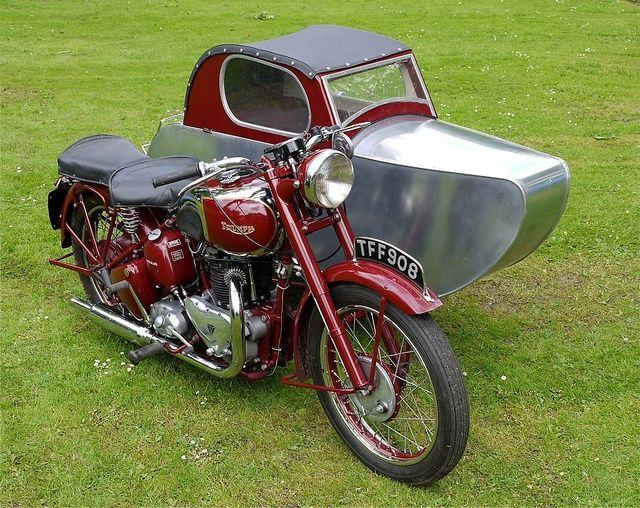 Motorbike Triumph Motorcycle Triumph Motorcycles Motorcycle Sidecar Motorcycle
