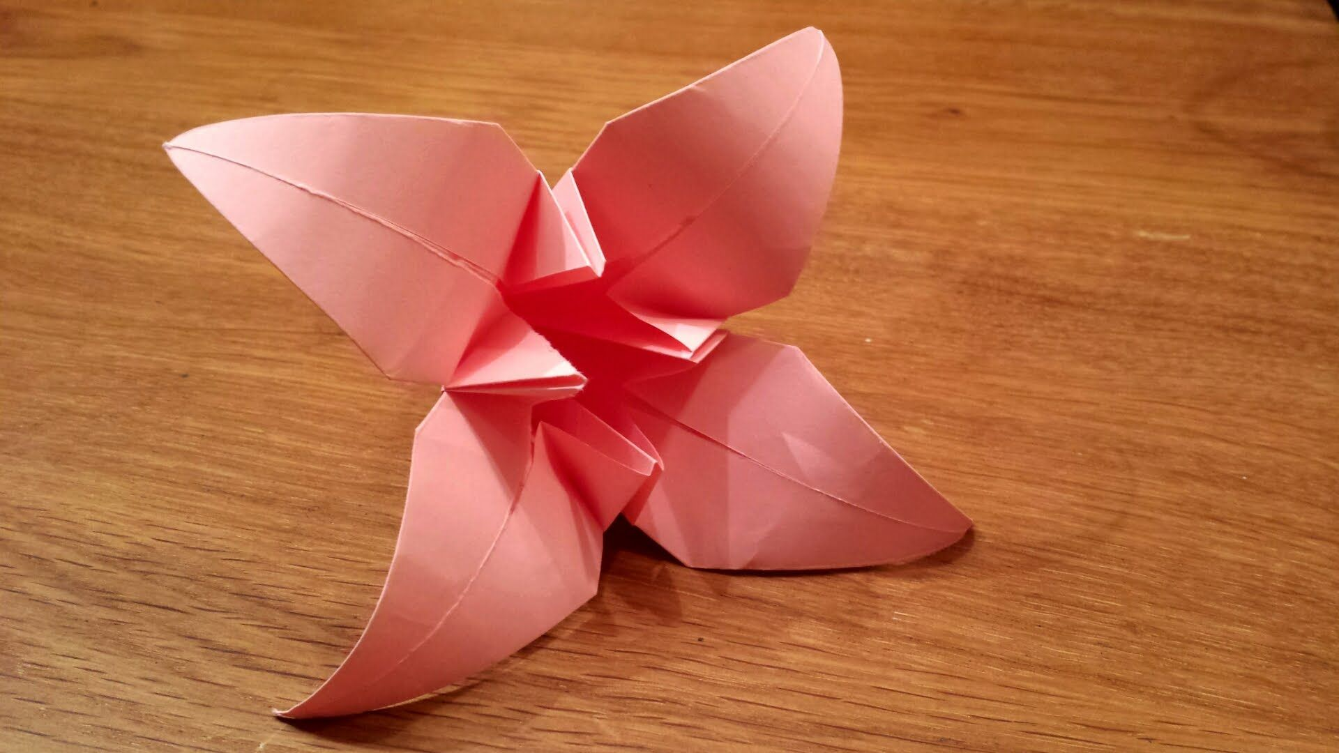 How To Make An Origami Iris Flower Youtube Art X Origami 2b