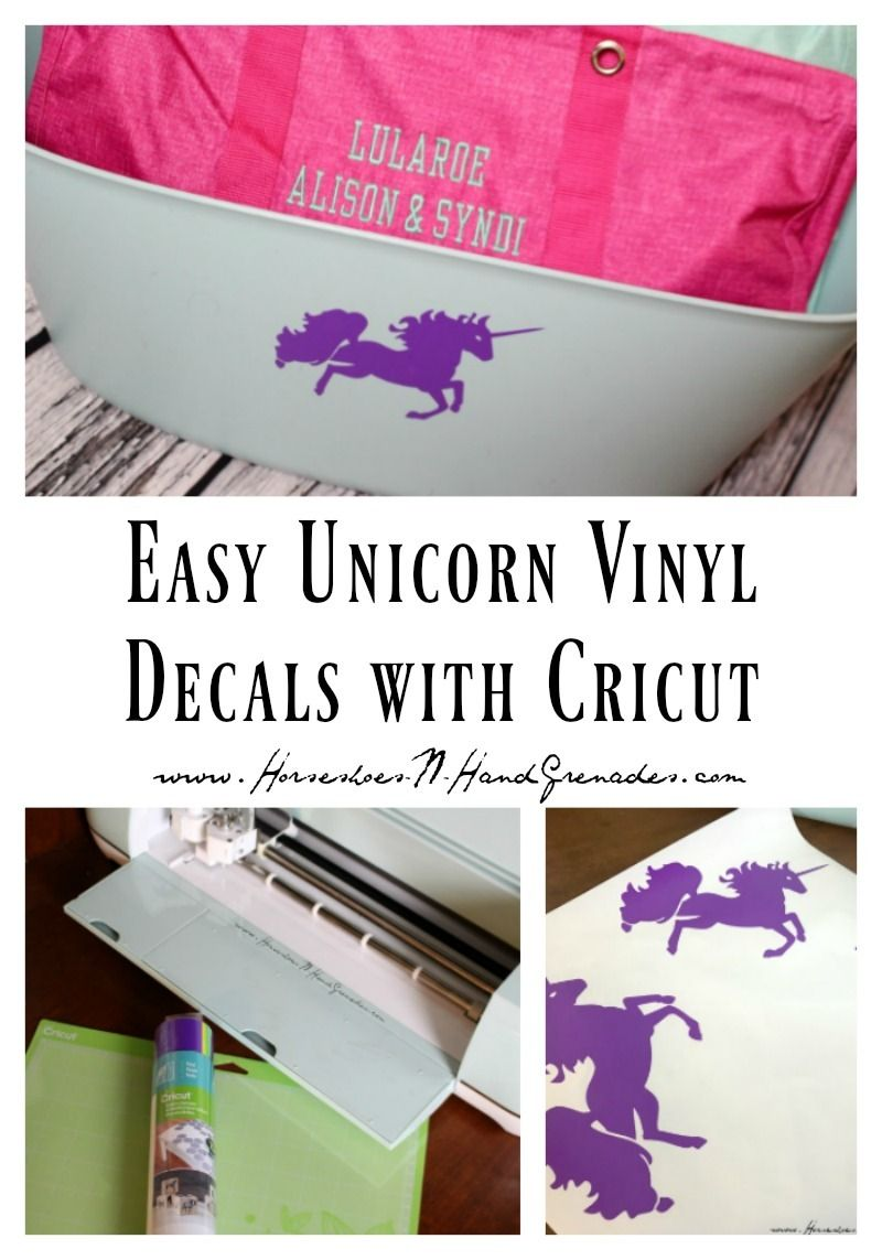 Easy Unicorn Vinyl Decals With Cricut Cricut Explore Air Cricut - How to make vinyl decals with cricut explore air