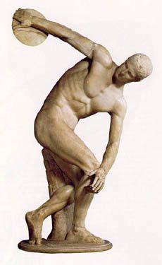 Diskobolos Ancient Greek Art Famous Sculptures Greek Art