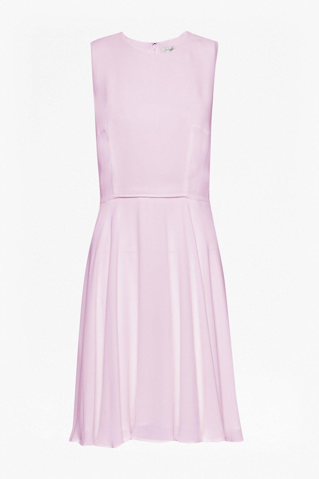Ana Crepe Flare Dress - Dresses - French Connection | Boho | Pinterest