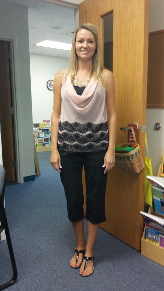 3f8caf38fe8d3 This teacher blogs everyday with a picture of what she wore to work! Love  her ideas of fun