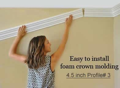 Foam Crown Moldings Styrofoam Crown Molding Flexible