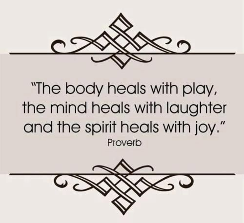 Heal your body and soul
