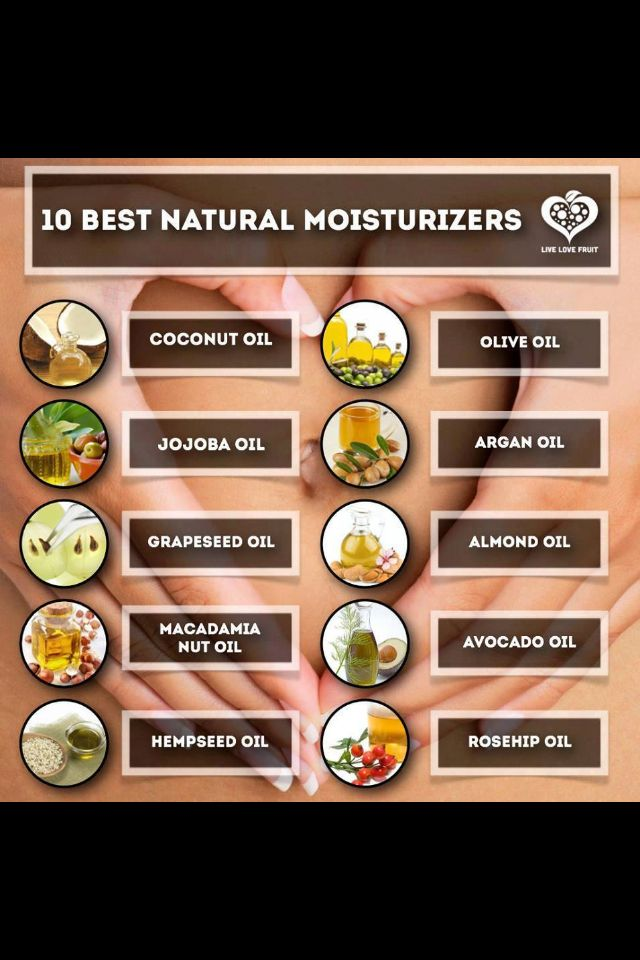"""We recognize many of the """"10 Best Natural Moisturizers"""" that we use in our all-natural #SheaMoisture products."""