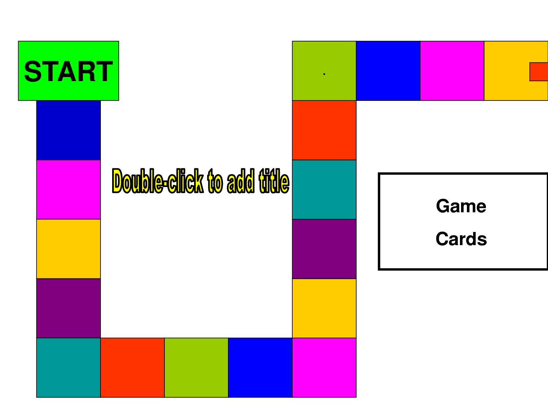 Blank Board Game Template Printable Racecziuc Board Game