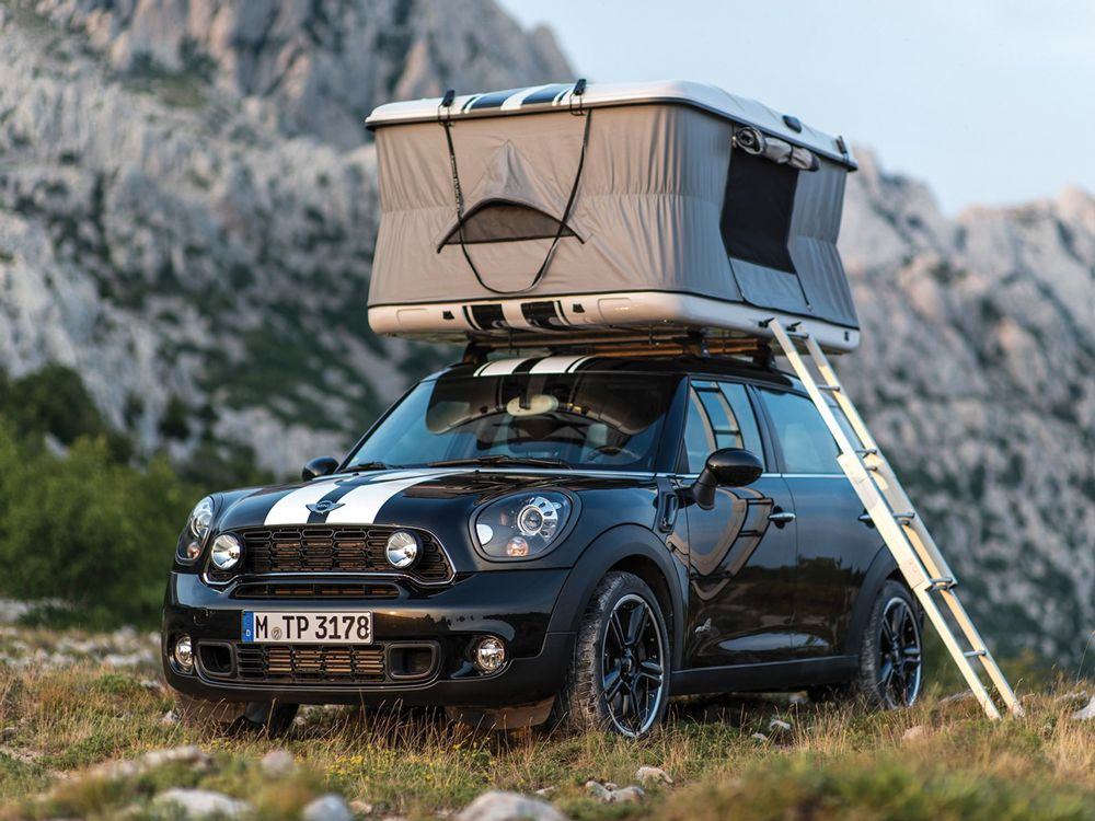 Truck Camping No Trailer Problem The James Baroud Rooftop Tent Goes Anywhere Your Car Can