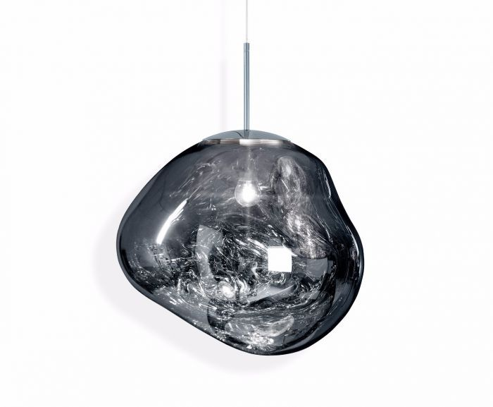 Melt Pendant Chrome Tom Dixon Melt Pendant Light Chrome Pendant Lighting