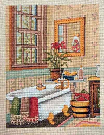 Pin de diana dobbins en cross stitch dollhouse rooms - Il bagno di diana klossowski ...