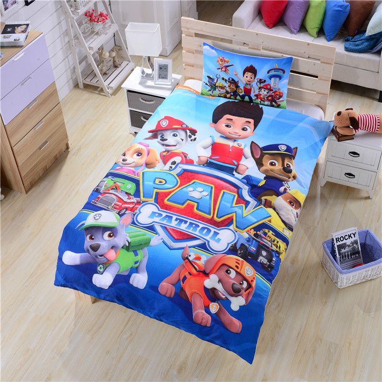 Hot Paw Patrol Bedding Set New Arrival Duvet Cover Set