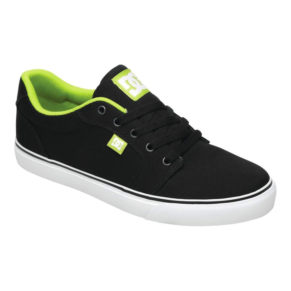 DC Shoes Anvil TX Shoe black soft lime ksl chaussures de skate 75€ #dc #dcshoes #spring2013 #men #man #skate #skateboard #skateboarding #dcshoescousa #anviltx #dcanviltx #homme #chaussure #shoes #monster #monsterenergy #shoe #chaussures #skateshop