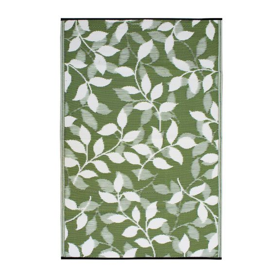 Bali Green Amp Ivory Mat Ajoyusshower Outdoor Rugs