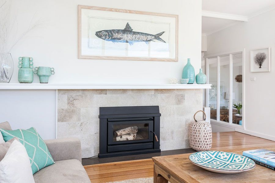 Stunning Beach House In Sydney Australia  Turquoise Accents Amusing Living Room Turquoise Review
