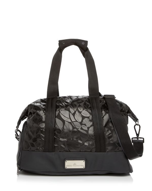 1bc9800f624e Banish boring gym bags  Stamped with a graphic floral print