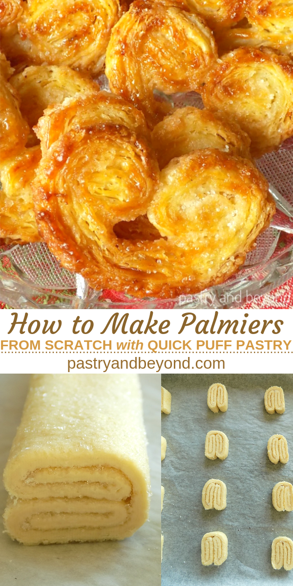 French Palmiers with Quick Puff Pastry
