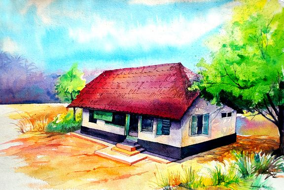 Watercolor On Handmade Paper Oil Painting On Canvas Watercolor Watercolor Paintings