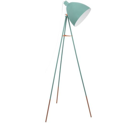 Buy Eglo Carlton Vintage Floor Lamp - Mint at Argos.co.uk, visit Argos.co.uk to shop online for Floor lamps, Lighting, Home and garden