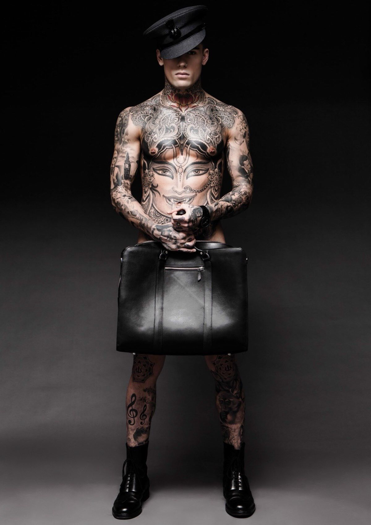 LICENSE TO THRILL: MODEL STEPHEN JAMES COVERS ADON