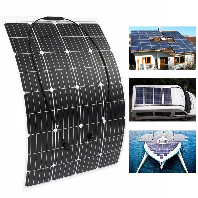 120w 18v Monocrystalline Silicon Semi Flexible Solar Panel Battery Charger With Mc4connector Electrical Equipment Supplies From Industrial Scientific On Ban Solar Panel Battery Flexible Solar Panels Solar Panels