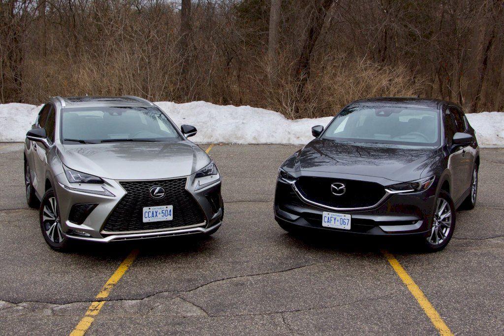 SUV Comparison 2019 Mazda CX5 Signature vs Lexus NX300 F