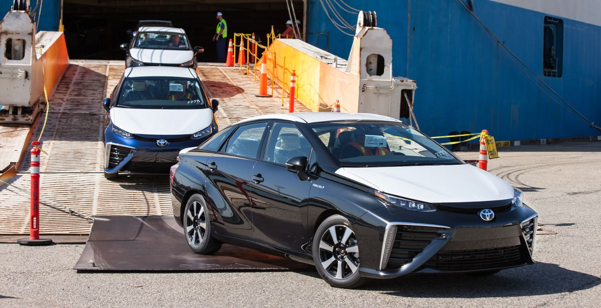 Toyota Australia's first commercially available fuel cell