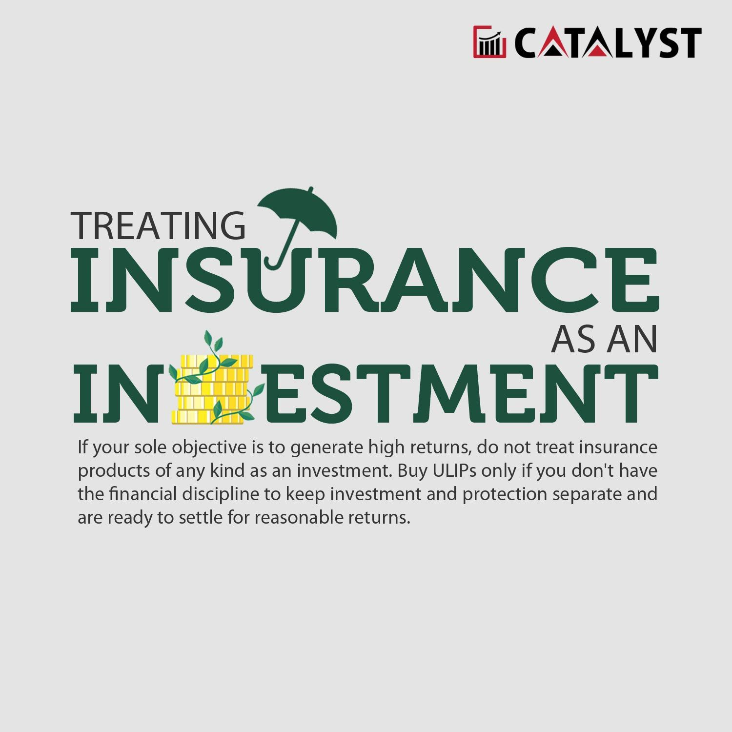 Treating Insurance As An Investment How To Plan Insurance