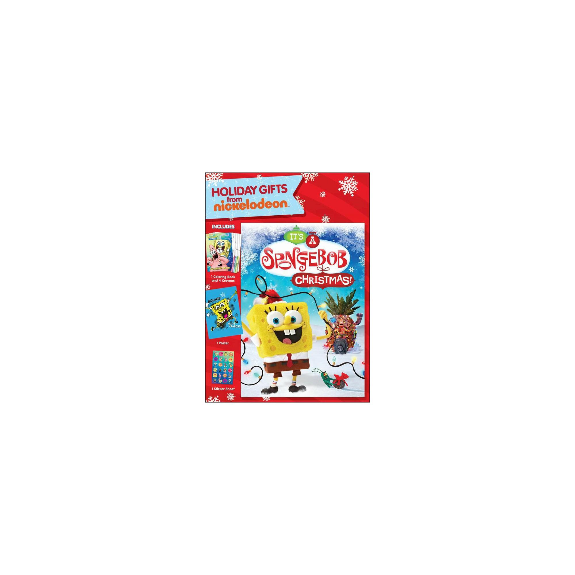 SpongeBob SquarePants: It\'s a SpongeBob Christmas!, Multi-Colored ...