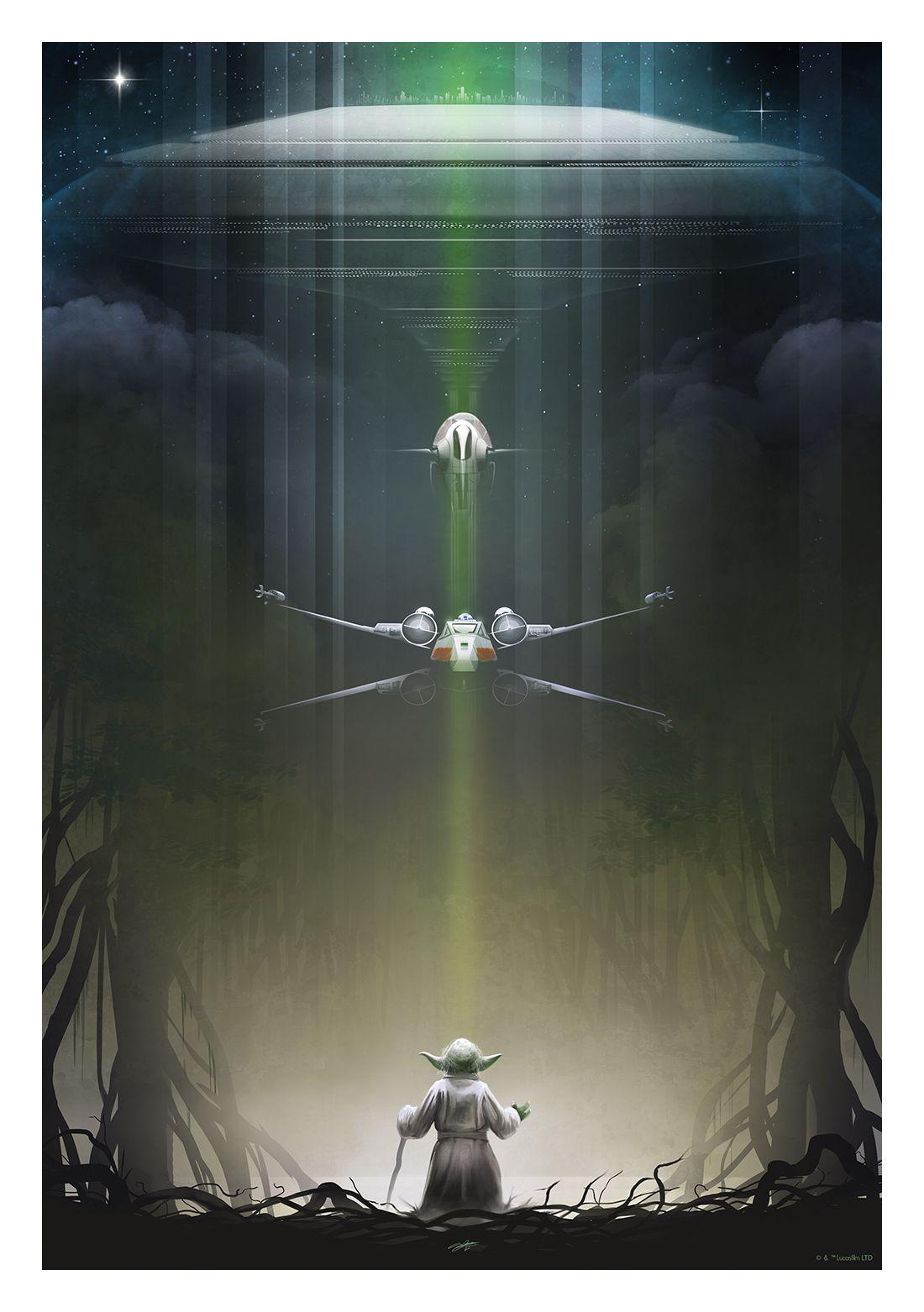Yoda by Andy Fairhurst.