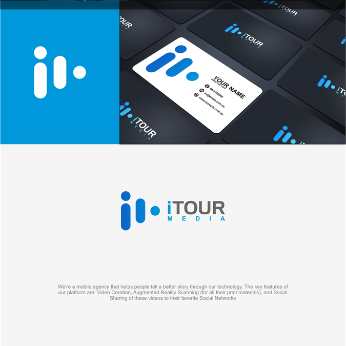 NEW Mobile Agency needs company rebranding. Help us create a CLEAN/MODERN logo and overall design! by RGB_™