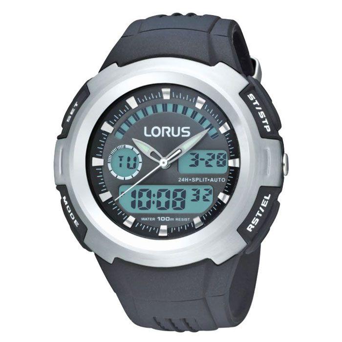 Lorus R2325dx9 Horloge Lorus Sports Gratis Verzending Herenhorloge Digitaal Horloge Horloges Man