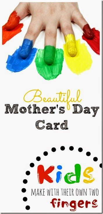 beautiful mothers day card kids make play activities for kids mothers day card kids mothers. Black Bedroom Furniture Sets. Home Design Ideas