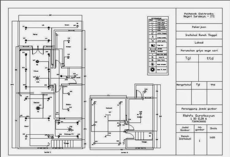 Denah instalasi listrik rumah tips instalasi listrik pinterest denah instalasi listrik rumah ccuart Choice Image
