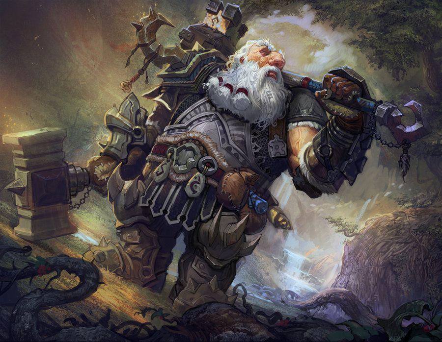 Dwarf by *armandeo64                  Digital Art / Paintings & Airbrushing / Fantasy©2012 *armandeo64