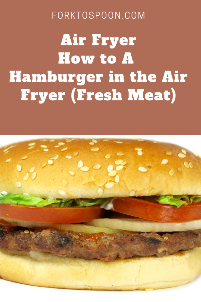 Air FryerHow to Make Hamburgers in the Air Fryer Recipe