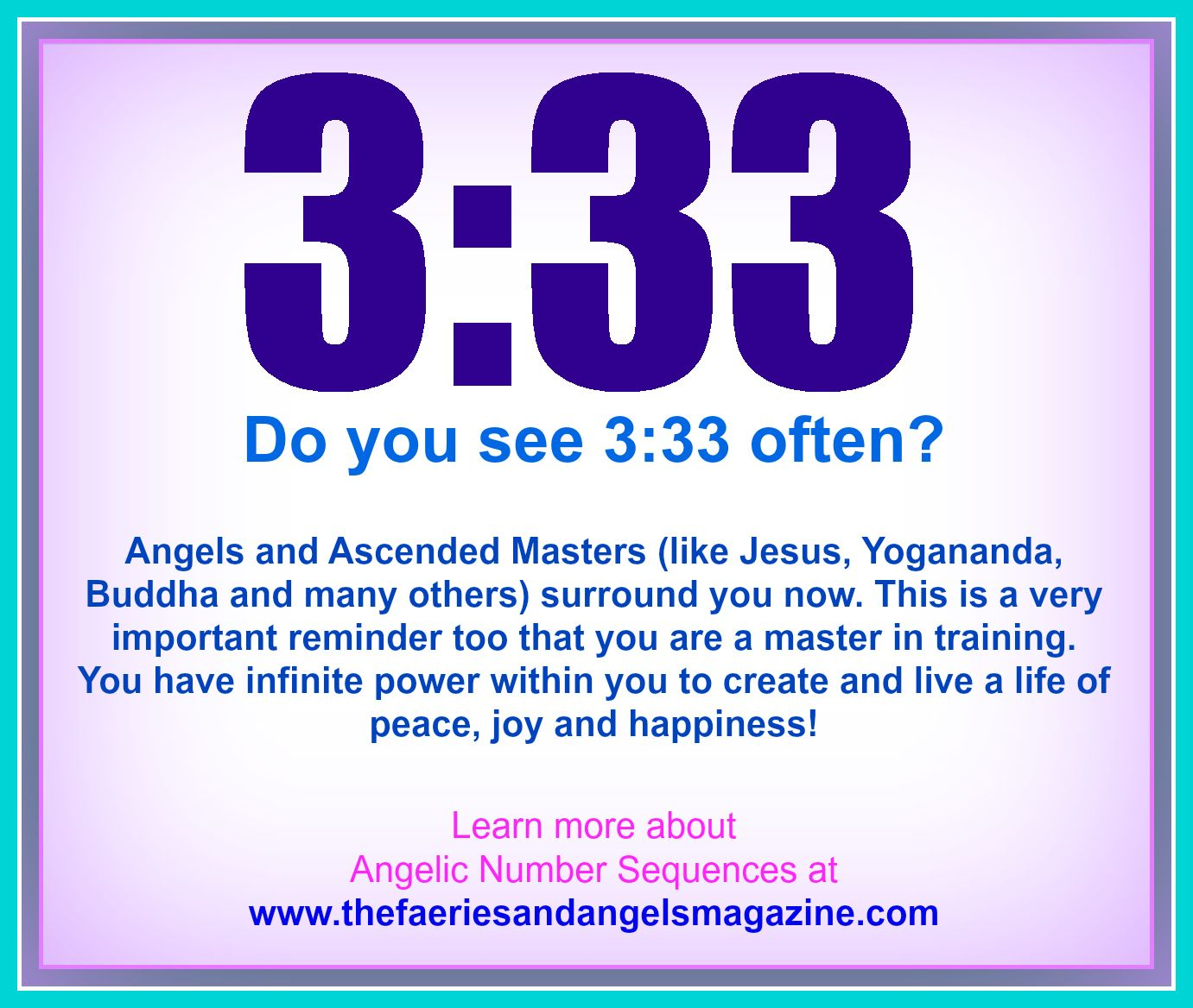 Pin by Norinda Reed on Angels | Numerology, Angel numbers