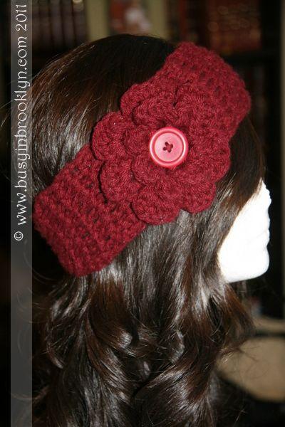 Crochet Ear Warmers | Crafty Things | Pinterest | Gorros crochet ...