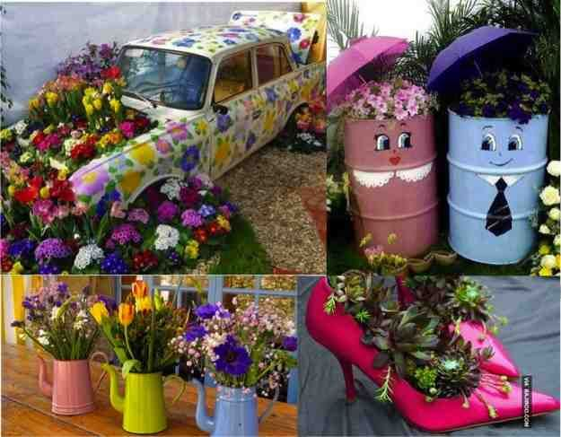 Diy gardening on a budget google search diy gardening on a 35 funky fantastic low budget diy garden planter projects do it yourself fun ideas solutioingenieria Image collections