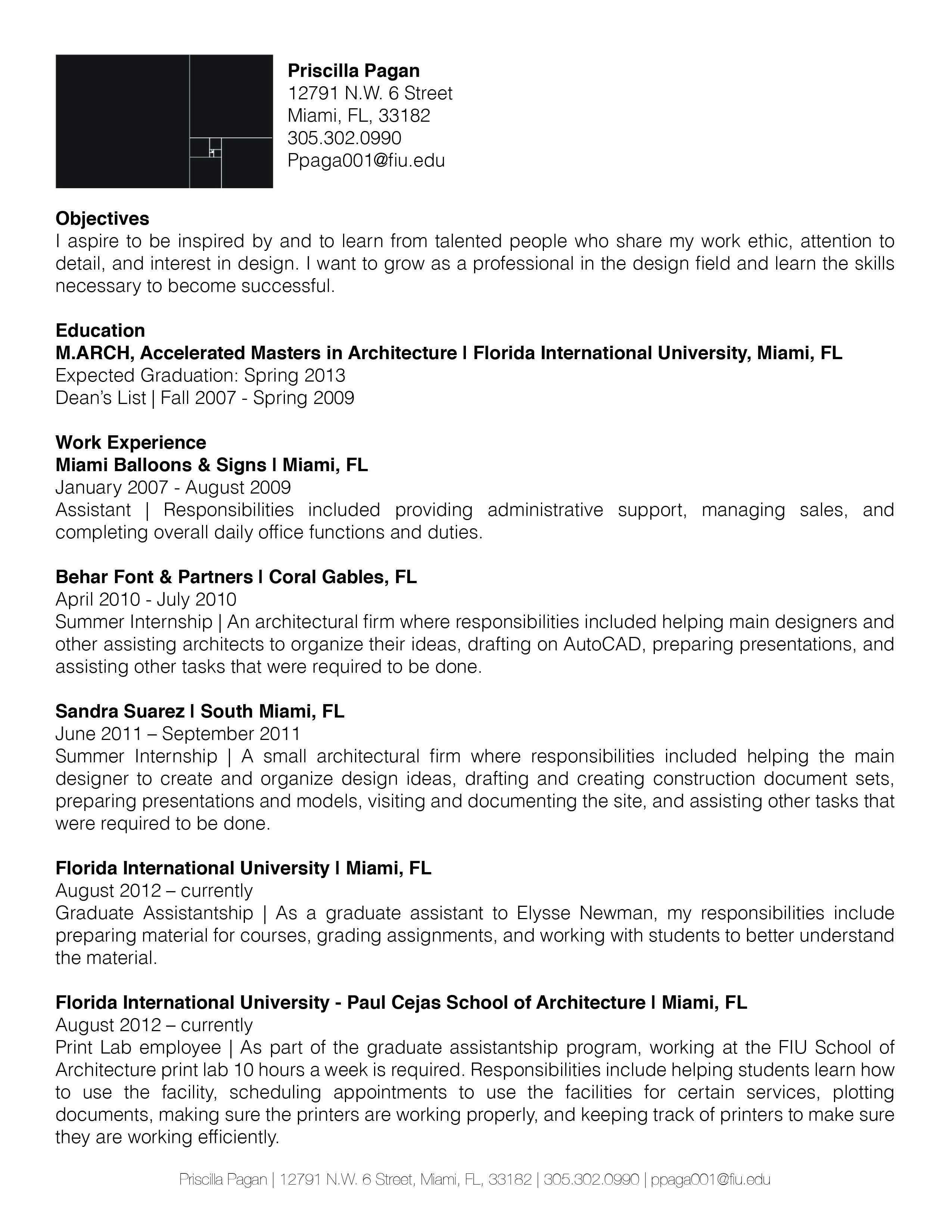 Curriculum Vitae Assignment Curriculum Vitae Curriculum Learning